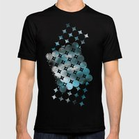 CircleTracts Mens Fitted Tee Black SMALL