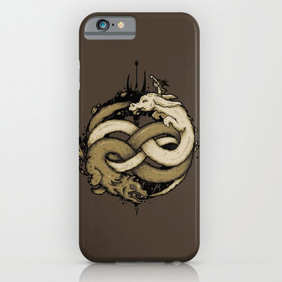 NEVERENDING FIGHT iPhone & iPod Case