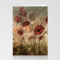 Summer field Stationery Cards