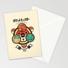 Pocket Monster Trainer Stationery Cards