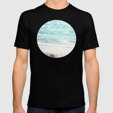 Serenity Black SMALL Mens Fitted Tee