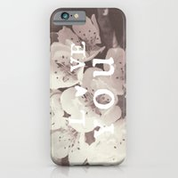 iPhone & iPod Case featuring love you  by Julia Kovtunyak