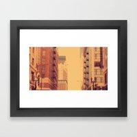 Blaaaaa Framed Art Print