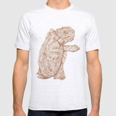 Blastoise Mens Fitted Tee Ash Grey SMALL