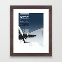 TXL Framed Art Print