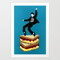 Homage To Elvis Art Print