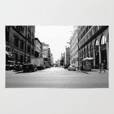 New York crosswalk Rug