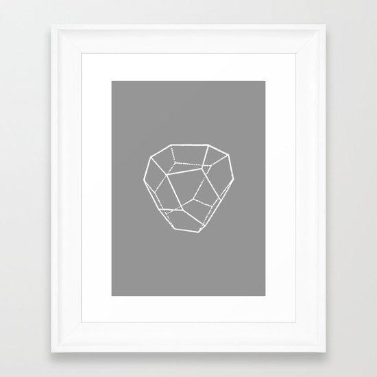 Tetrahedral Pentagonal Dodecahedron Framed Art Print