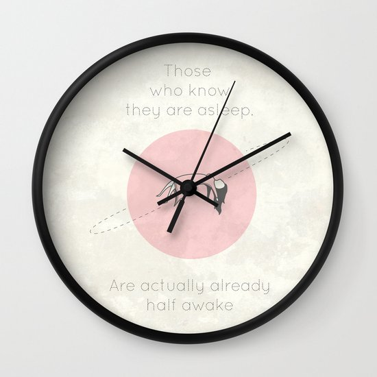 The Insomnia of Heisenberg Wall Clock