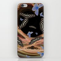 The Butterfly Effect iPhone & iPod Skin