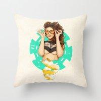 Mrs. Nevada Throw Pillow