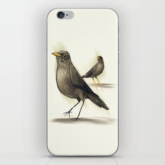 Chilean Fieldfare iPhone & iPod Skin