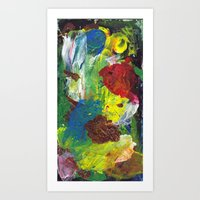 One Board (#5) Art Print