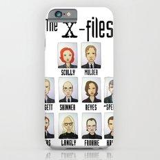 X FILES iPhone 6s Slim Case