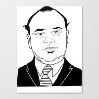 Al 'Scarface' Capone Canvas Print