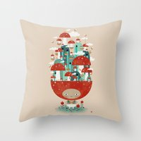 TOADSTOOL TAO Throw Pillow