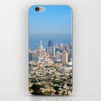 Twin Peaks, San Francisco iPhone & iPod Skin