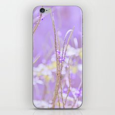 Gladness breathes from the blossoming ground. iPhone & iPod Skin