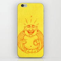 Laughter Brightens The S… iPhone & iPod Skin