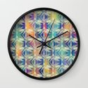 Tropical Mood 2 pattern Wall Clock