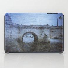 Paris Bridge & Seine Holga Double Exposure iPad Case