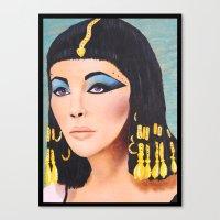 Cleopatra Canvas Print