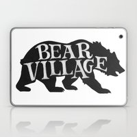 Bear Village - Grizzly Laptop & iPad Skin