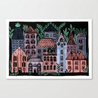 Little Street Canvas Print
