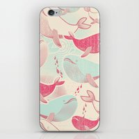 Whale ReUnion iPhone & iPod Skin