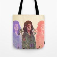 Distracted Identity Tote Bag