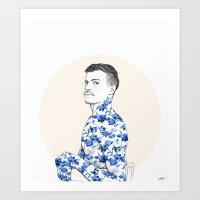 Inked #1 Art Print