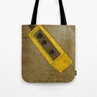 Alternative Terminator 2 Movie Poster Tote Bag