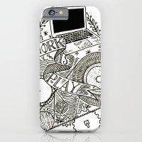 Work is Play iPhone 6 Slim Case