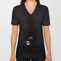 do small things with great love Unisex V-Neck