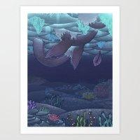 Nessy Art Print