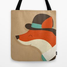 City Fox Tote Bag