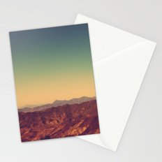 Mountains Clashed Stationery Cards