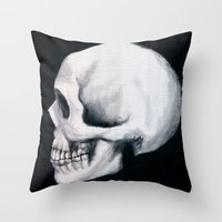 Bones XII Throw Pillow