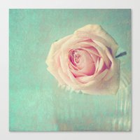 Mint Rose  Canvas Print