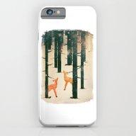 Winter Deer iPhone 6 Slim Case