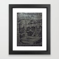 Colic In The 19th Framed Art Print