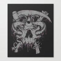 Sickle & Bone  Canvas Print