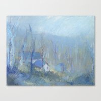 Shenandoah Blue Canvas Print
