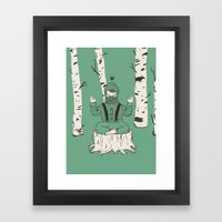 One with everything Framed Art Print