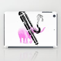 Can you go any lower? (Contra Bassoon) iPad Case