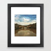 Ponte  Vecchio Florence Framed Art Print