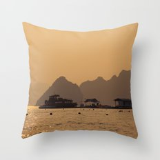 Halong II Throw Pillow