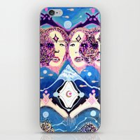 In The Water iPhone & iPod Skin