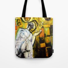 Breakfast on Park Road Tote Bag