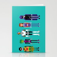 Teenage Superheroes Stationery Cards
